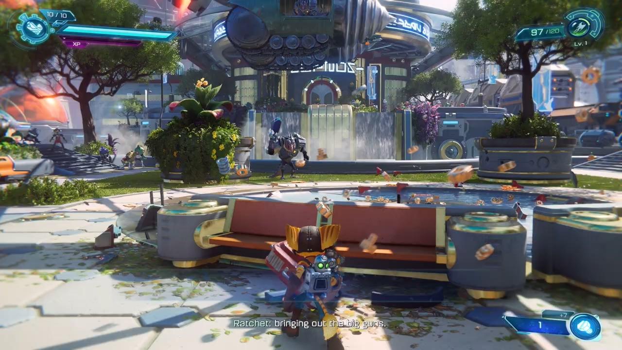 科隆游戏展:《瑞奇与叮当:分离》PS5实机演示公开