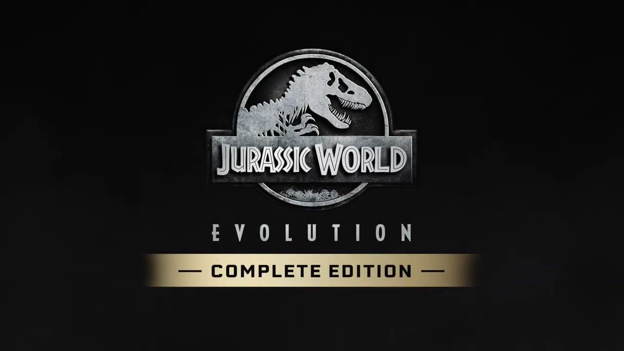 《侏罗纪世界:进化》宣布登陆Switch 11月3日发售