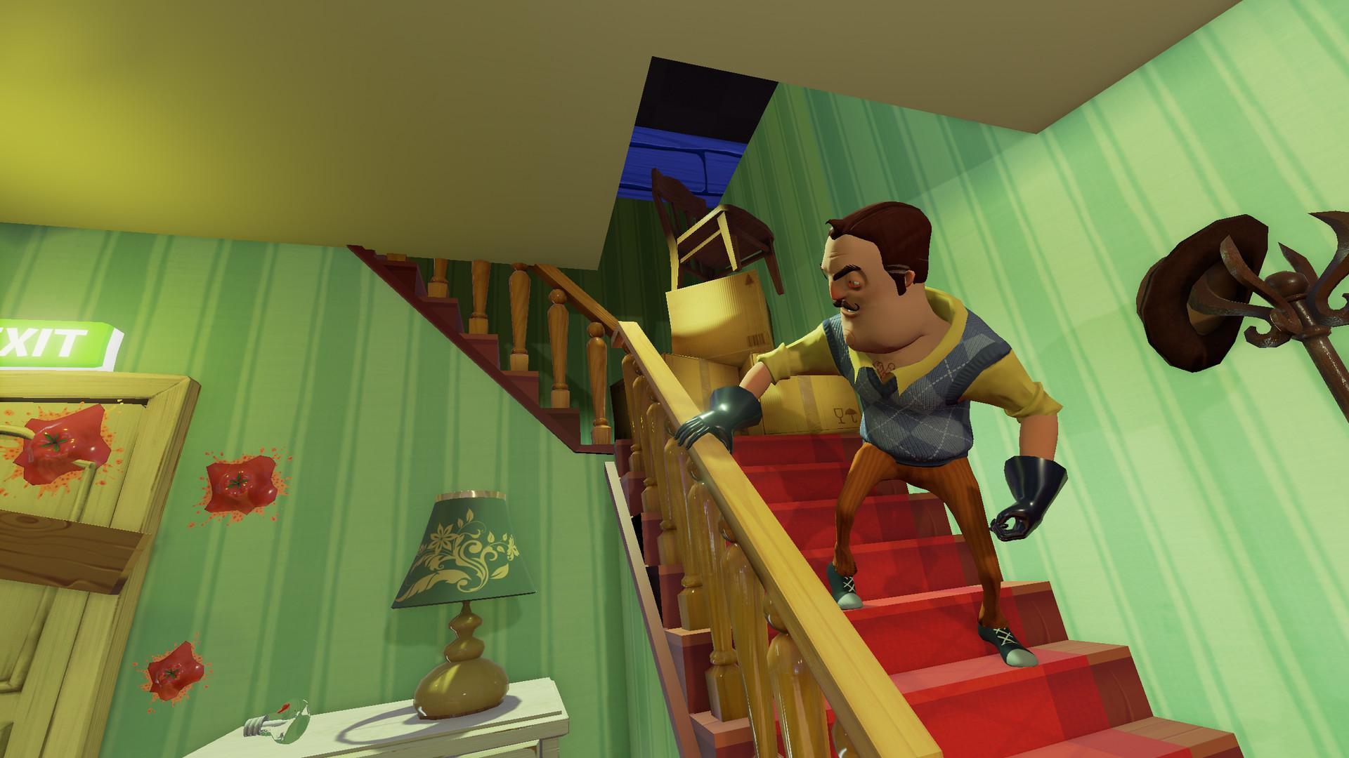 《你好邻居2》公布10分钟玩法展示视频