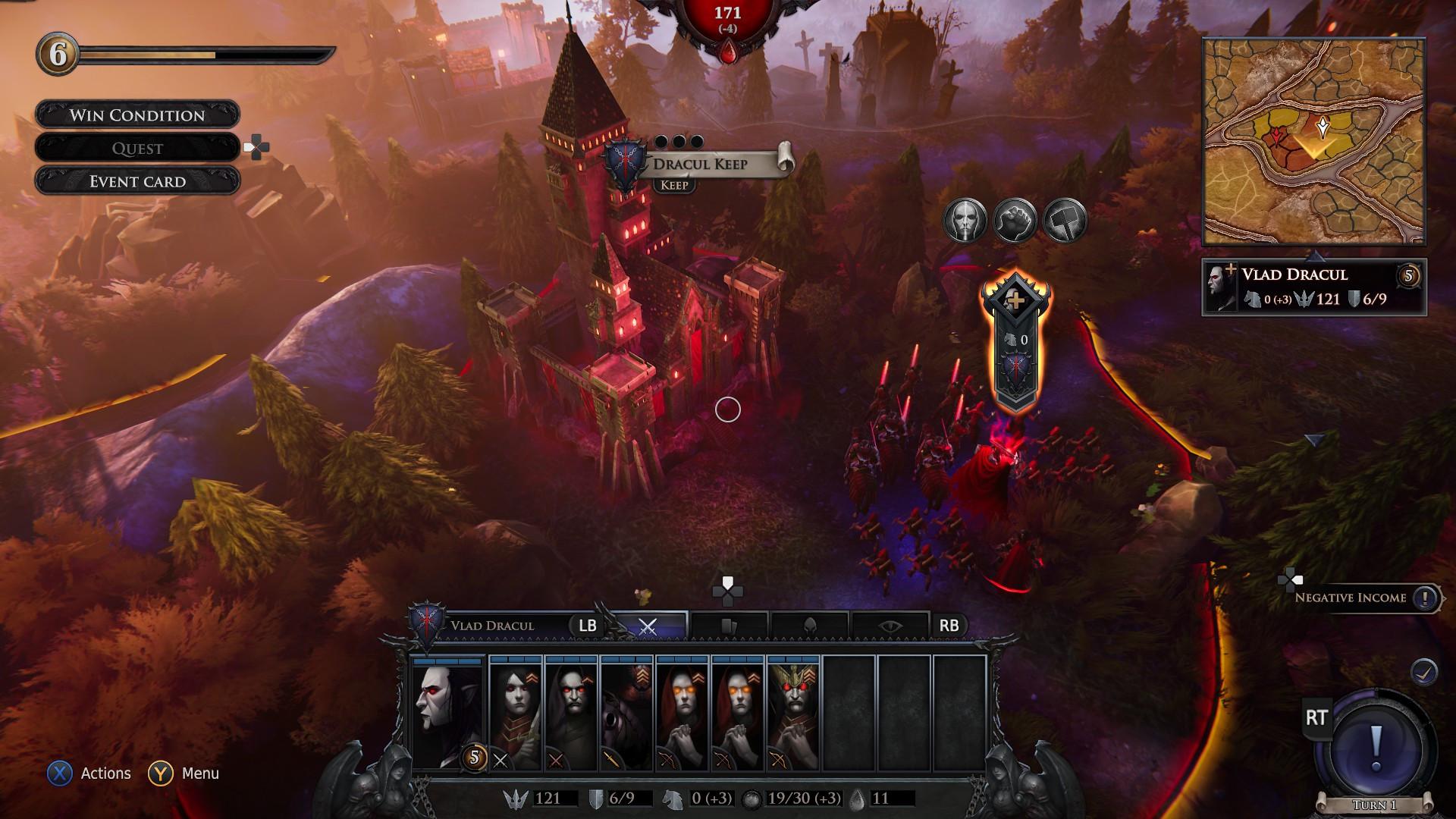 策略游戏《不朽国度:血族战争》发售 特惠价144元支持中文