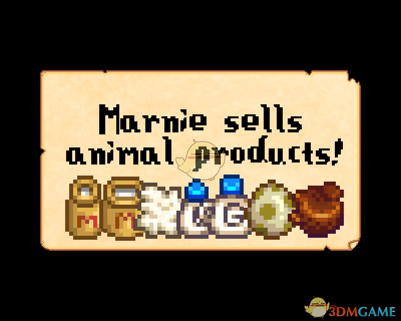 《星露谷物语》玛尼出售动物产品MOD