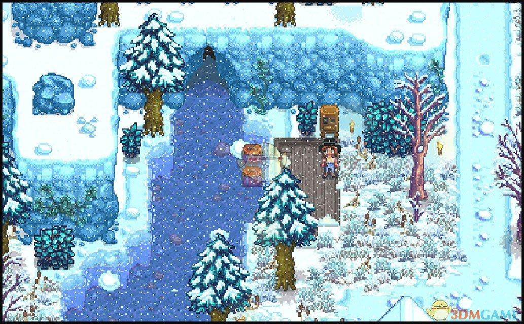 《星露谷物语》花草和积雪MOD