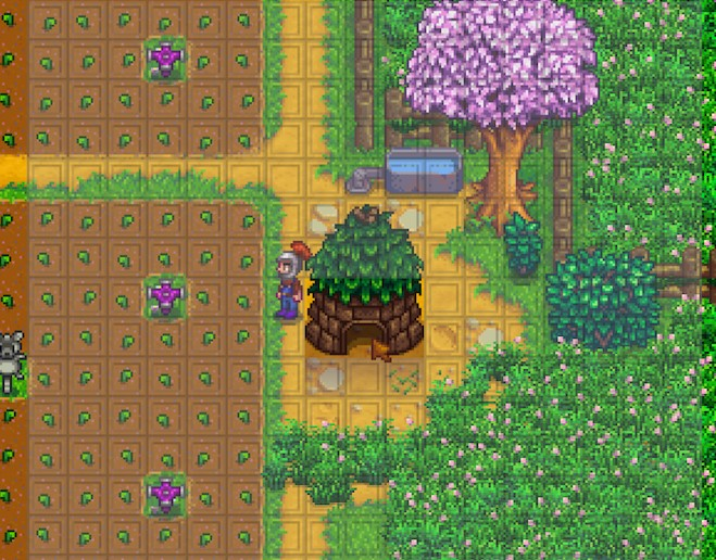 《星露谷物语》农场工具范围显示MOD