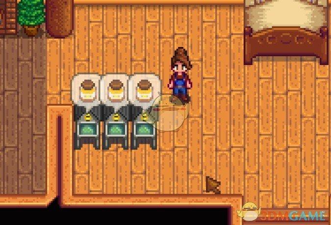 《星露谷物语》室内蜂房MOD