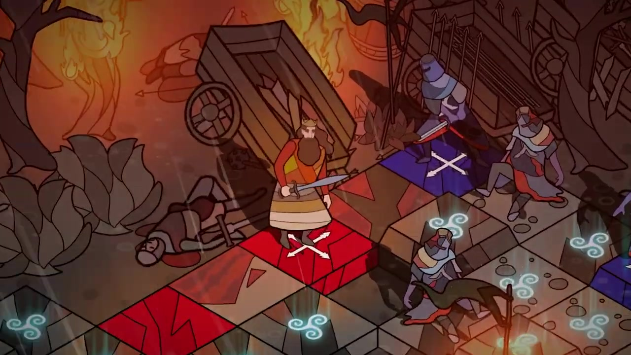 回合制策略游戏《Pendragon》9月22日发行