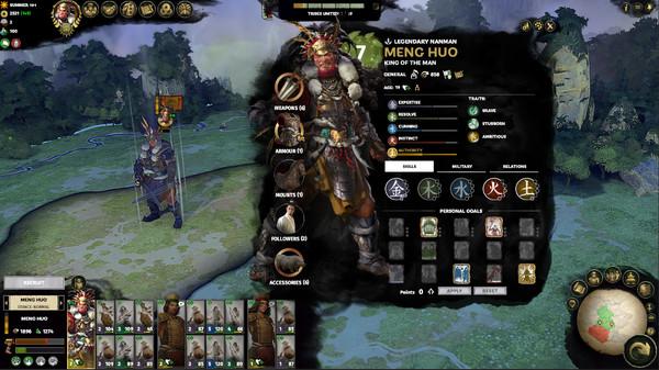 《全面战争:三国》南蛮DLC登陆Steam 售价84元 多半好评