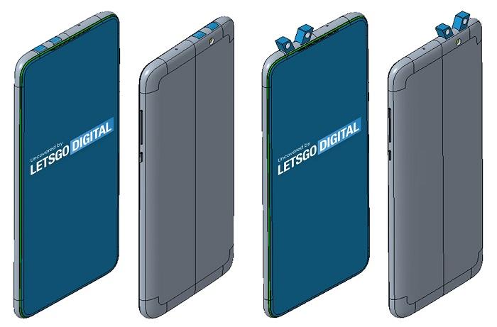 小米手机新设计专利曝光 采用双弹出式前后置摄