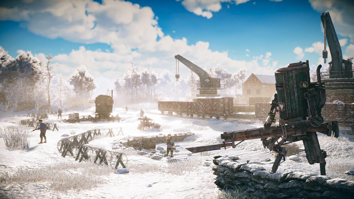 《钢铁收割》评测:相比于RTS操作,游戏的代入感更胜一筹