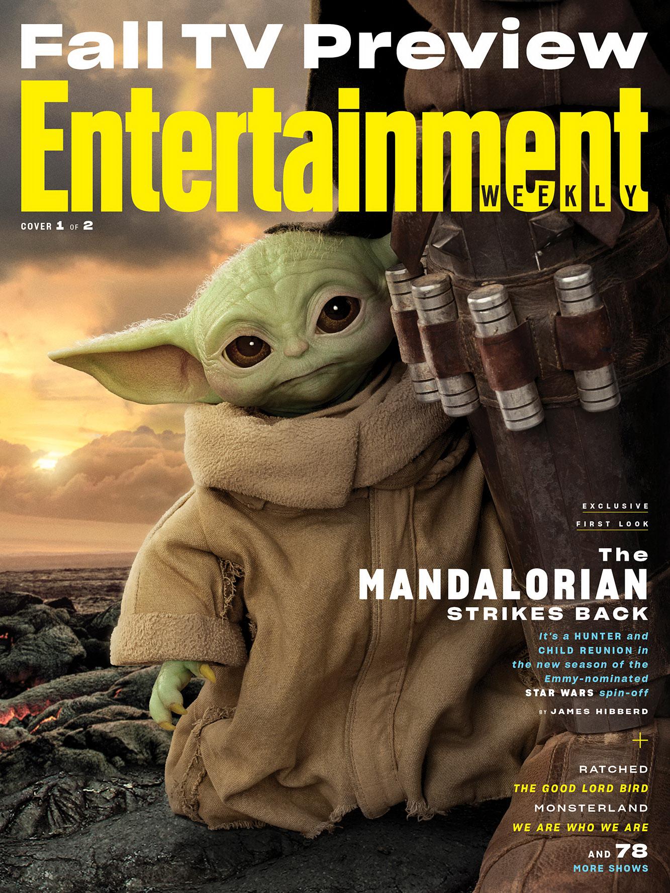 《曼达洛人》第二季剧照曝光 超可爱的尤达宝宝登场