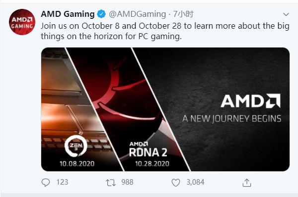 AMD:RTX 6000系列显卡10月28日公布 最强Radeon