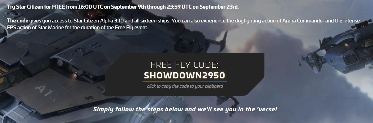 《星际公民》新免费试飞活动 玩家可以免费试玩两周