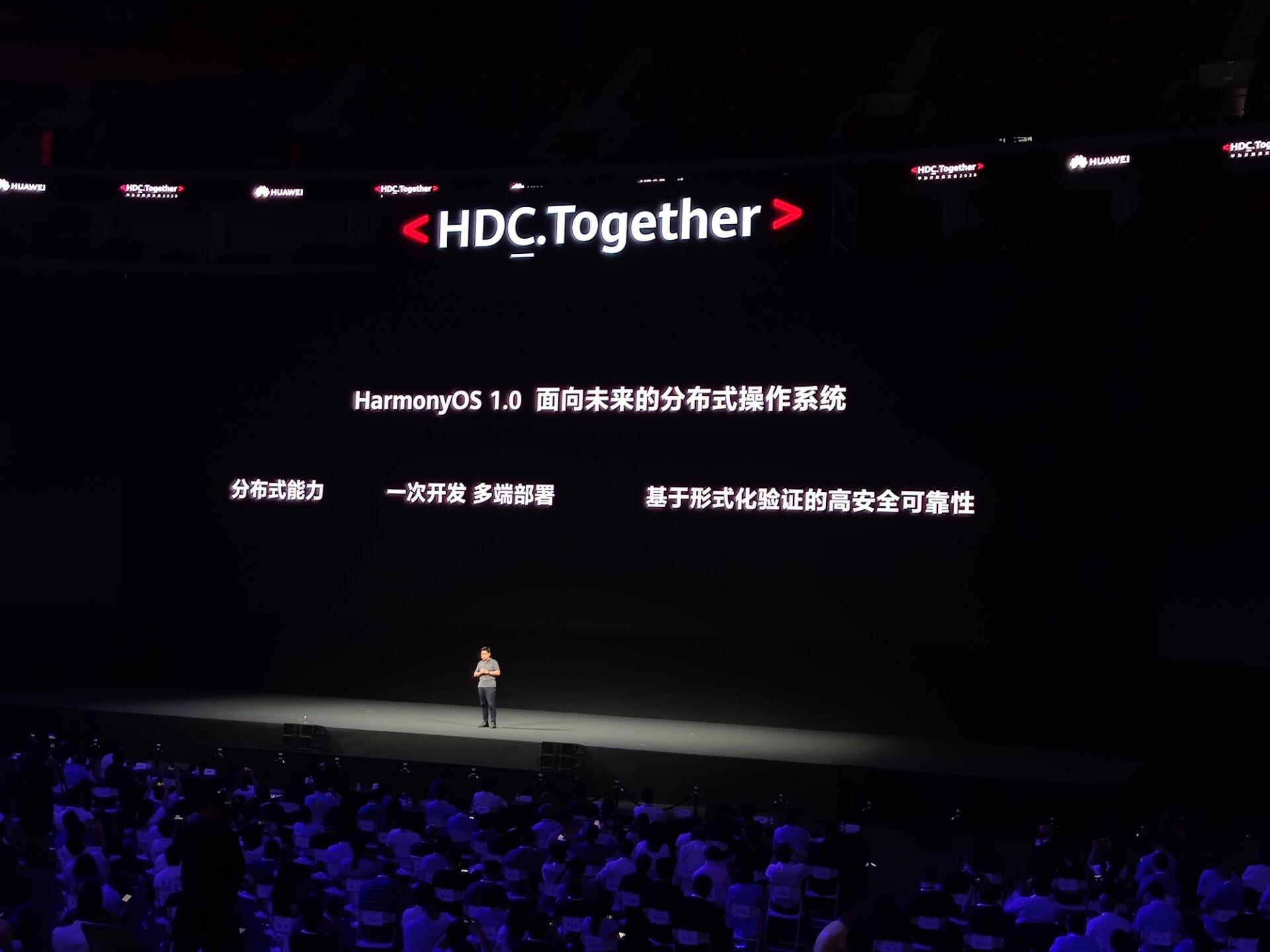 鸿蒙OS 2.0发布:12月出手机版 明年华为手机全面
