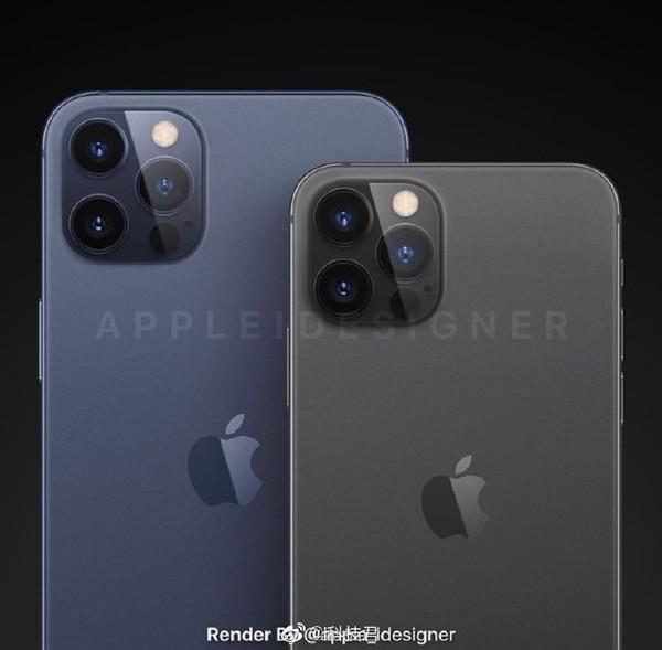 iPhone12系列新渲染图曝光:直角边设计 或售5499起