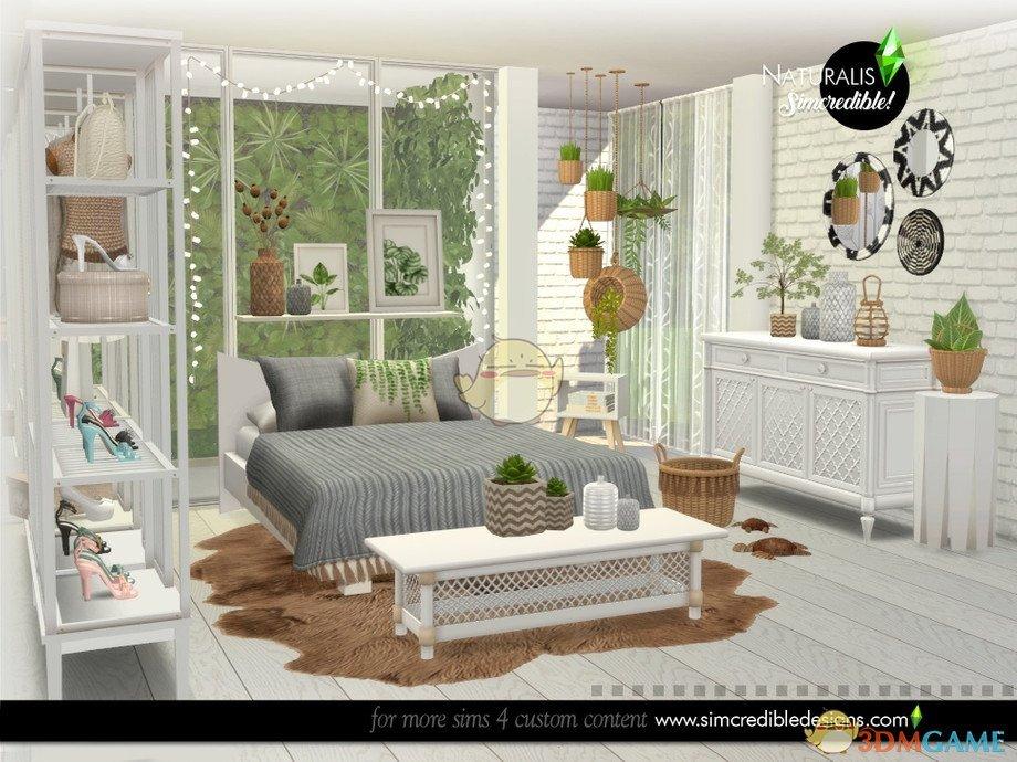 《模拟人生4》自然风格卧室MOD