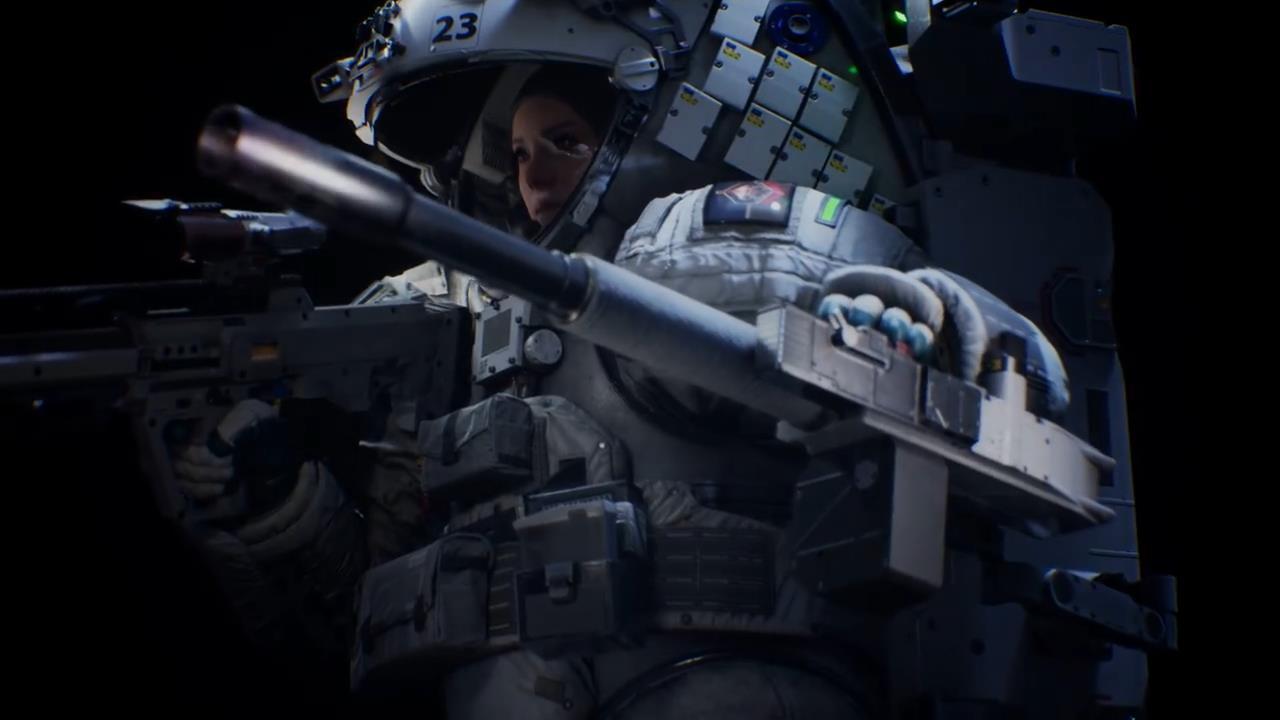 国产科幻FPS《边境》基准测试演示 光追效果惊艳