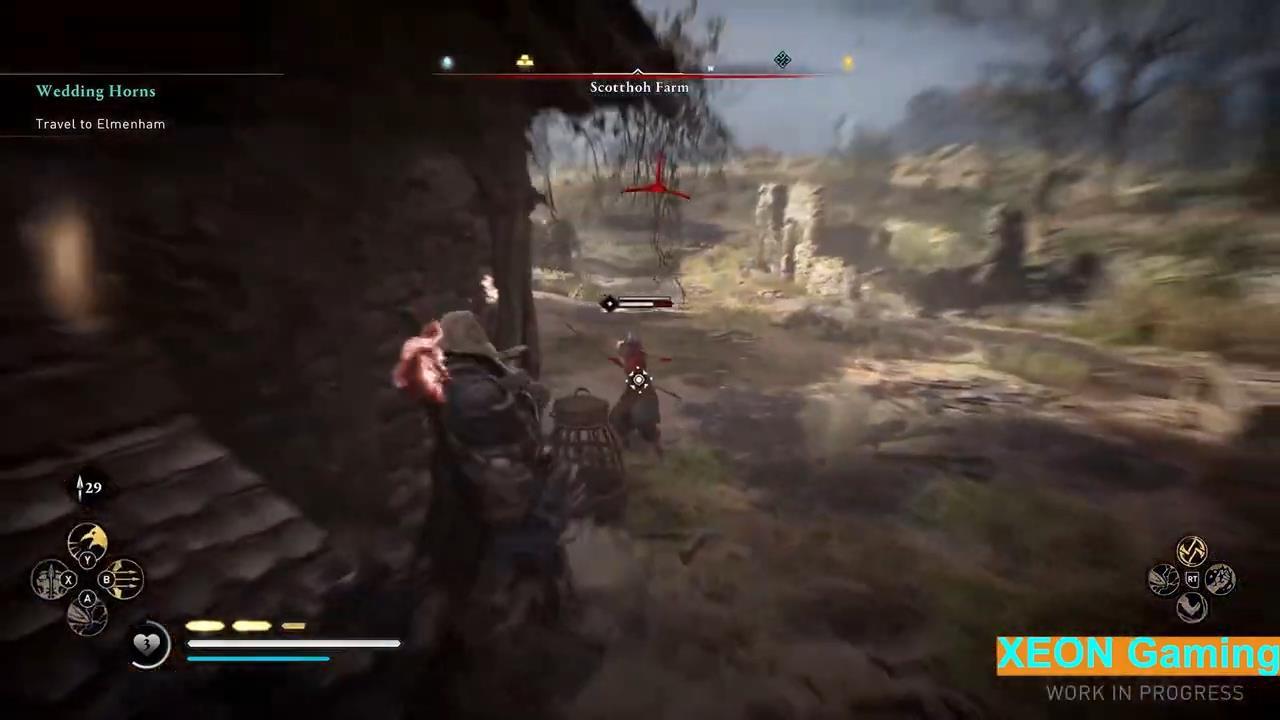 《刺客信条:英灵殿》新演示视频 猪突猛进爽快游玩