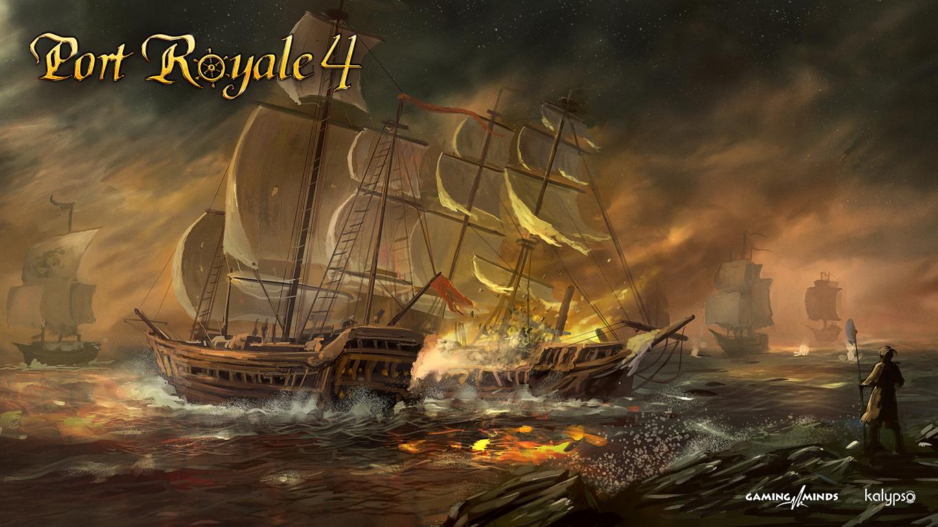 《海商王4》过场CG图释出 加入17世纪海上霸权之争