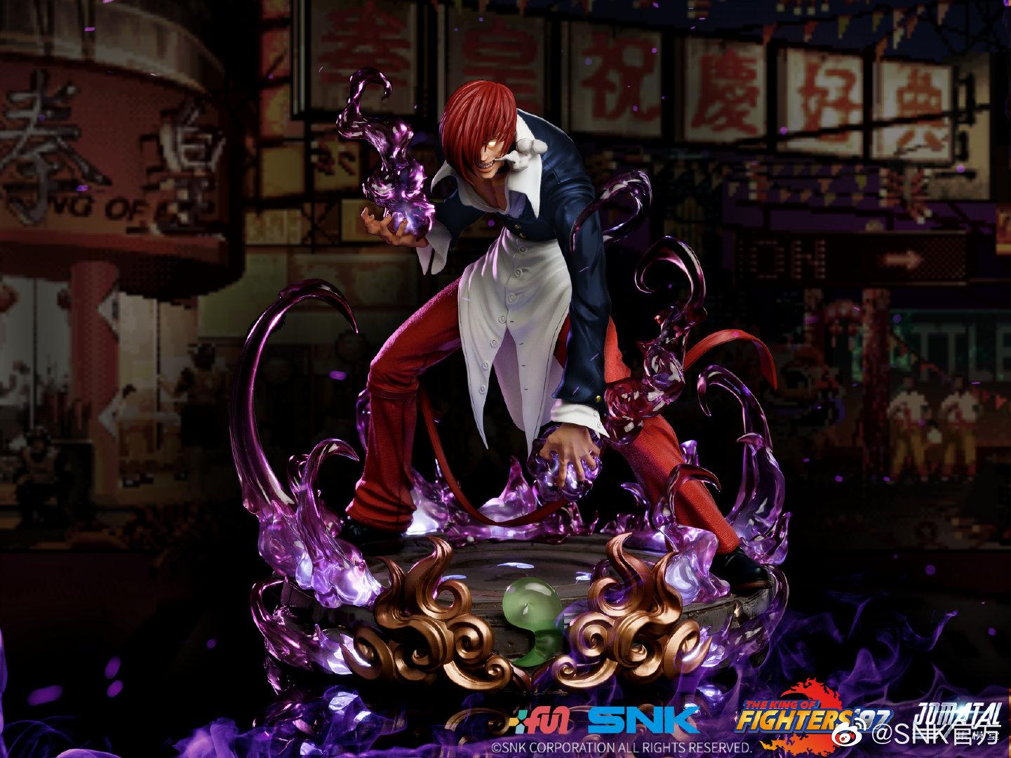 《拳皇97》暴走八神庵1/6雕像预售开启 2580元 限量488个
