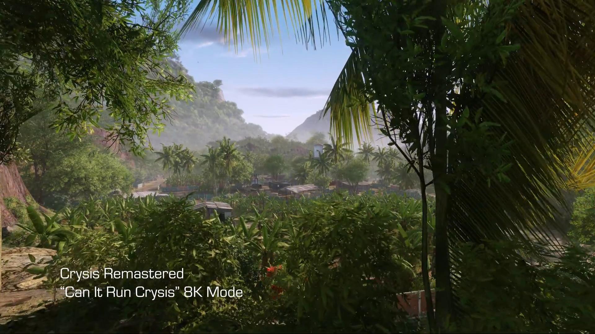 纤毫毕现!Crytek发布《孤岛危机:重制版》8K预告