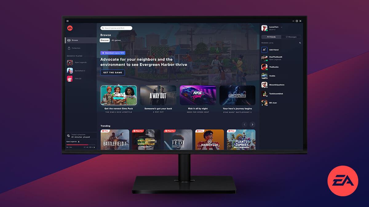 EA Desktop App正式公布 所有橘子玩家都可注册