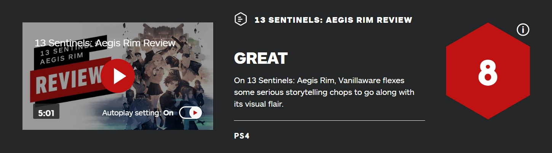 《十三机兵防卫圈》IGN 8分:剧情严肃 机甲世界给力