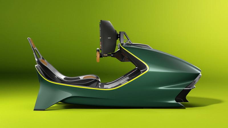 阿斯顿马丁推出真实视角的赛车模拟器 售价超50万