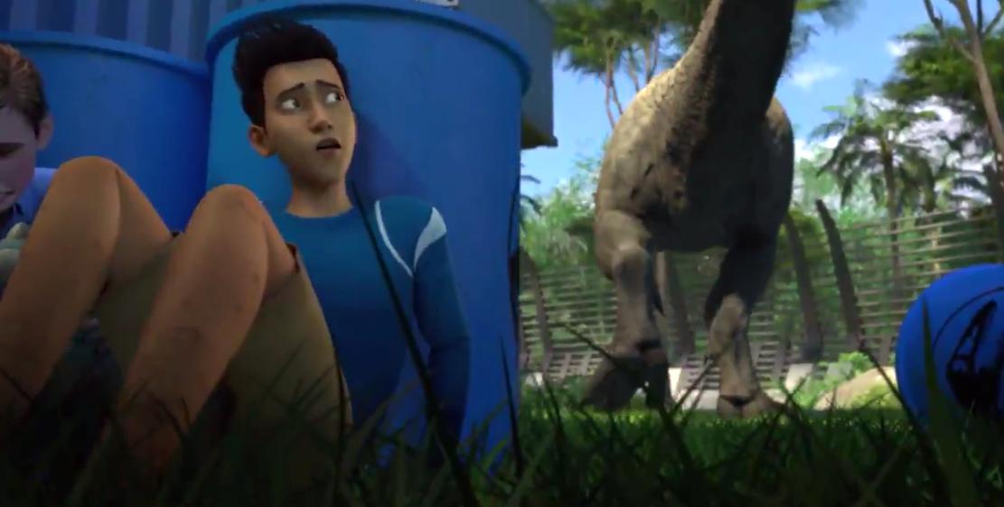 网飞3D动画《侏罗纪世界:白垩冒险营》实际影像公开 9.18日上线