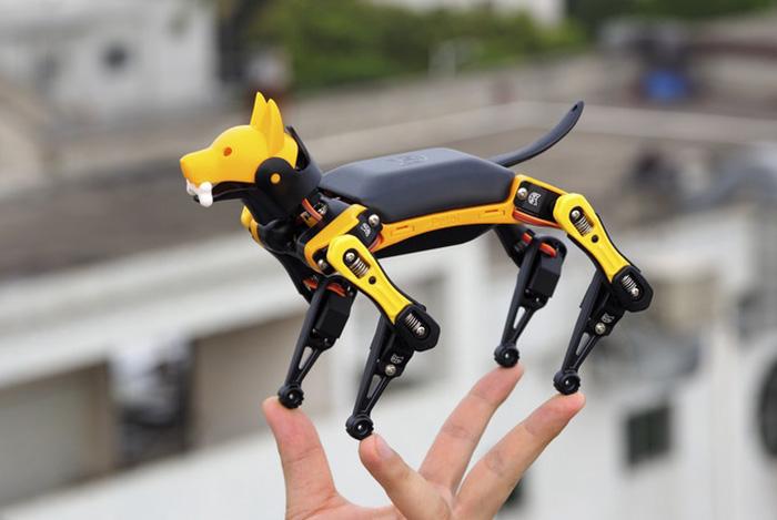 新型掌上机器狗《Bittle》开启众筹 灵活精致价格