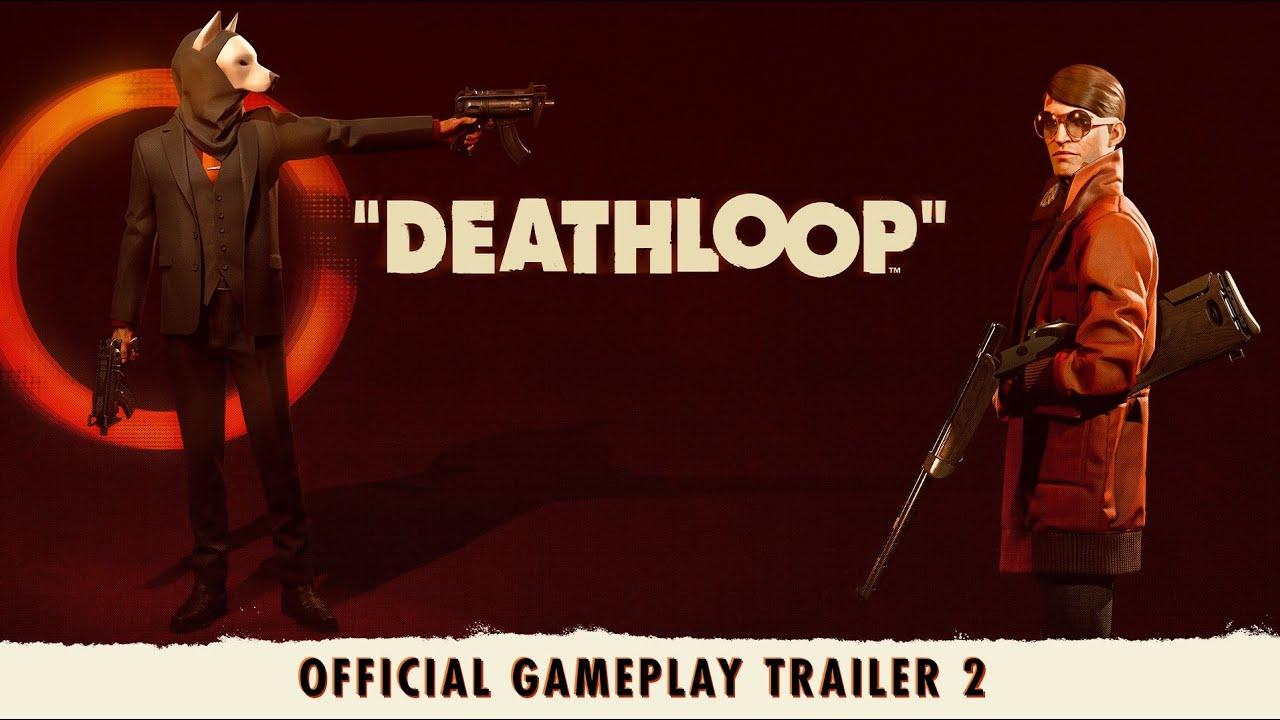 PS5游戏发布会:《死亡循环》发布一石二鸟宣传片