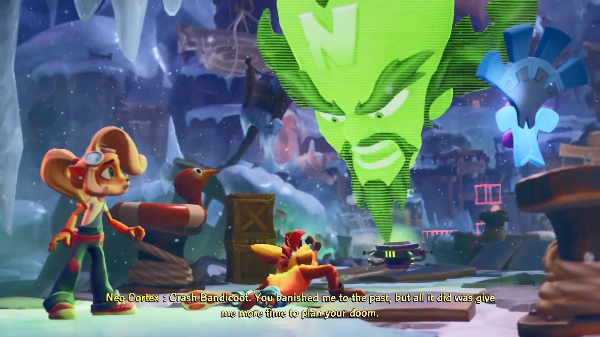 《古惑狼4》试玩版17分钟实机演示 邪恶博士登场