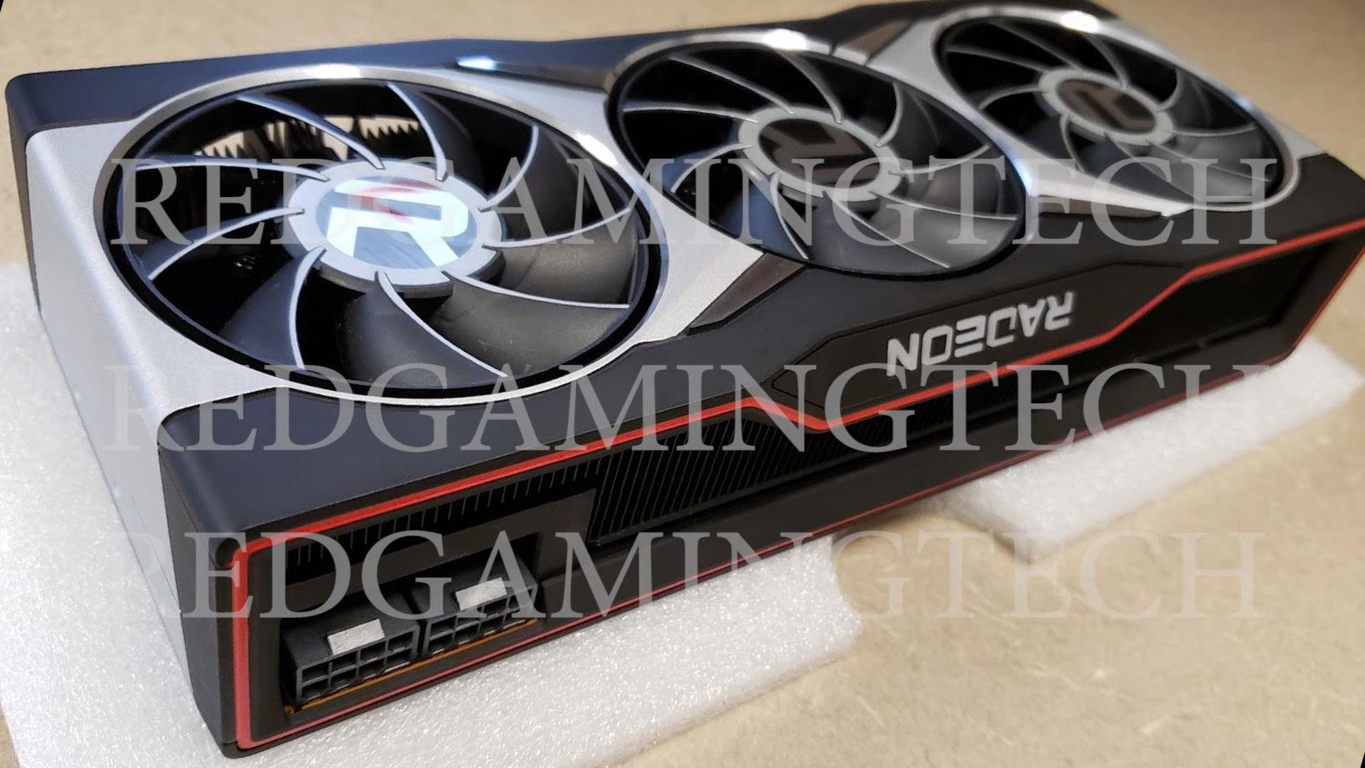 AMD RX 6900 XT显卡实物首曝:散热开孔都还没做完