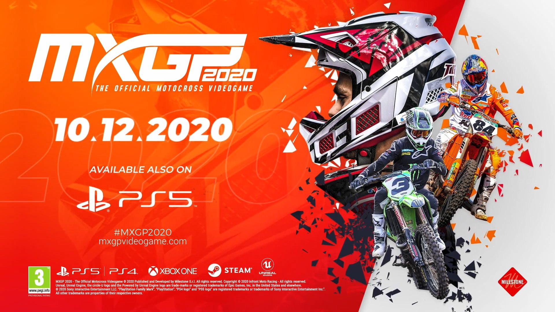 《越野摩托2020》12月10日发售 将带来全新的真实