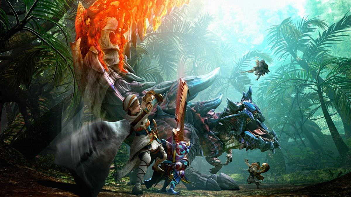 网传Switch版《怪物猎人》新作将于2021年3月发售