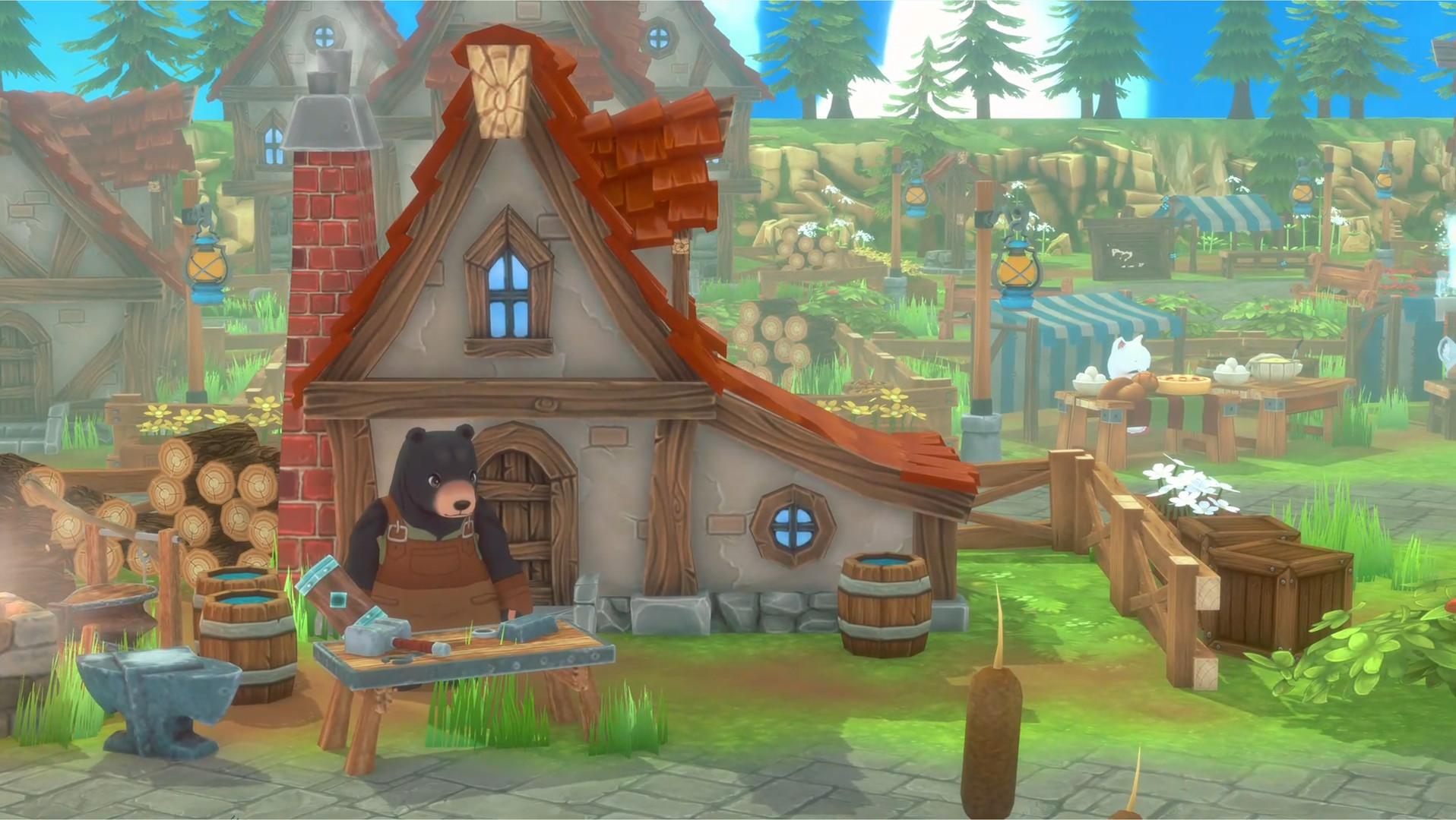 动物版符文工厂《奇塔利亚童话》公布 明年全平台发售