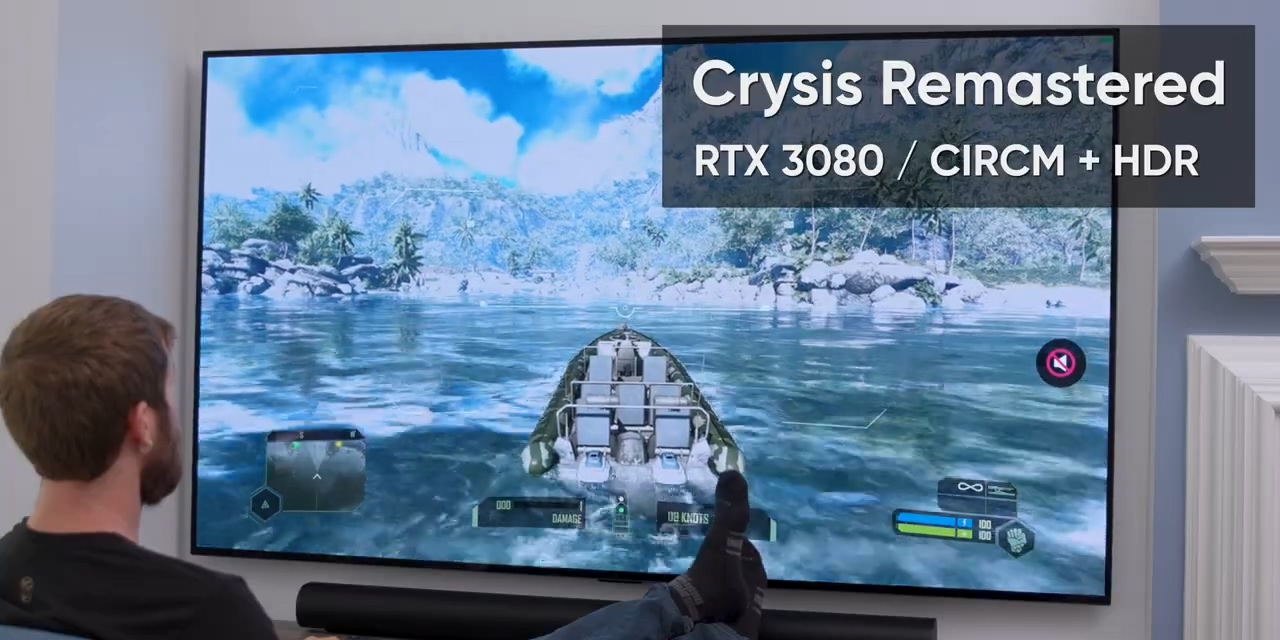 《孤岛危机:重制版》RTX 3080 4K测试 30fps很勉强
