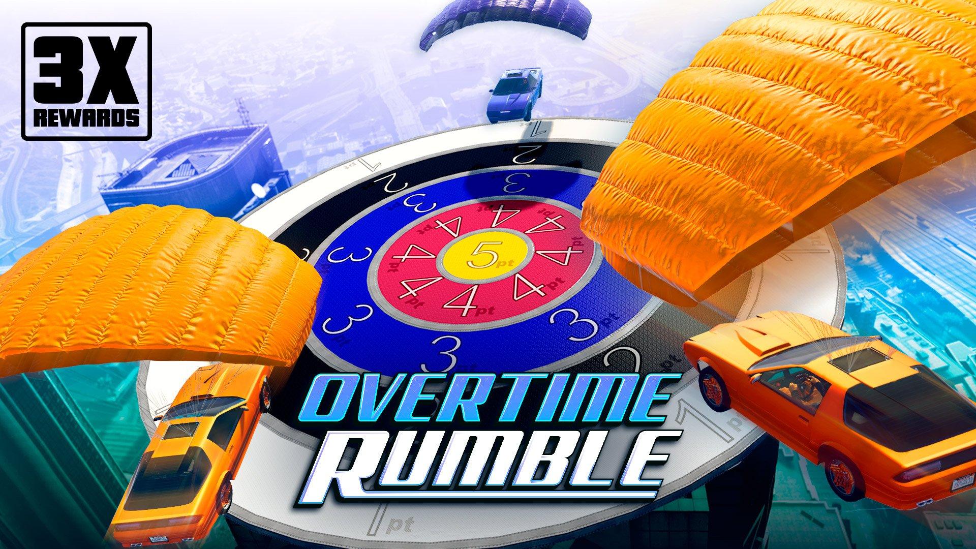 《GTA》在线模式:在加时乱斗高飞滑翔 享3倍奖励