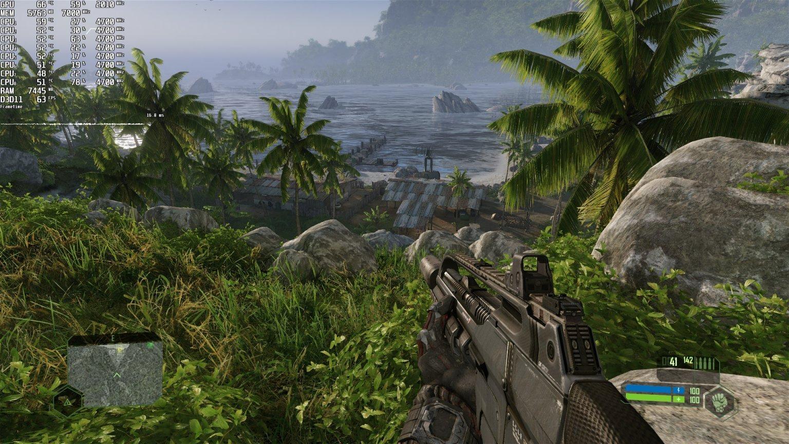 与原版一样《孤岛危机:重制版》存在单线程CPU问题