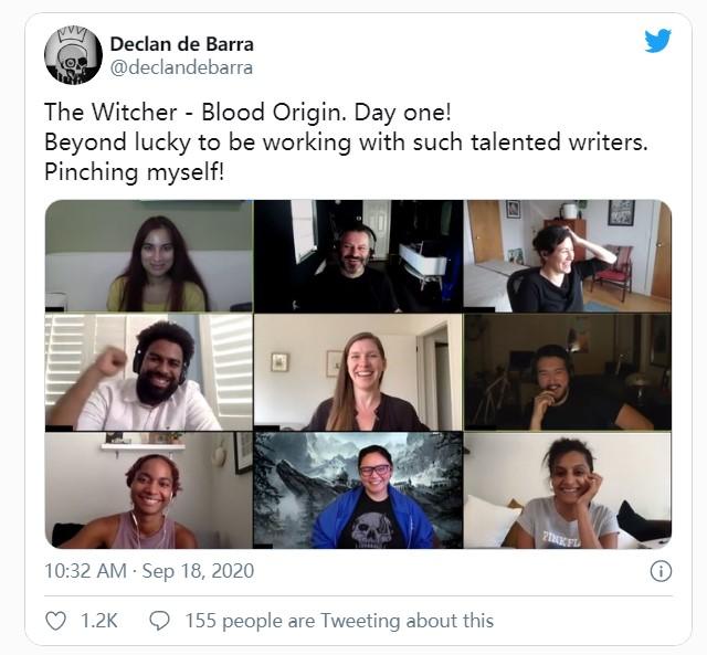 《巫师》第2季编剧团队公布 很多来自DC漫威电视