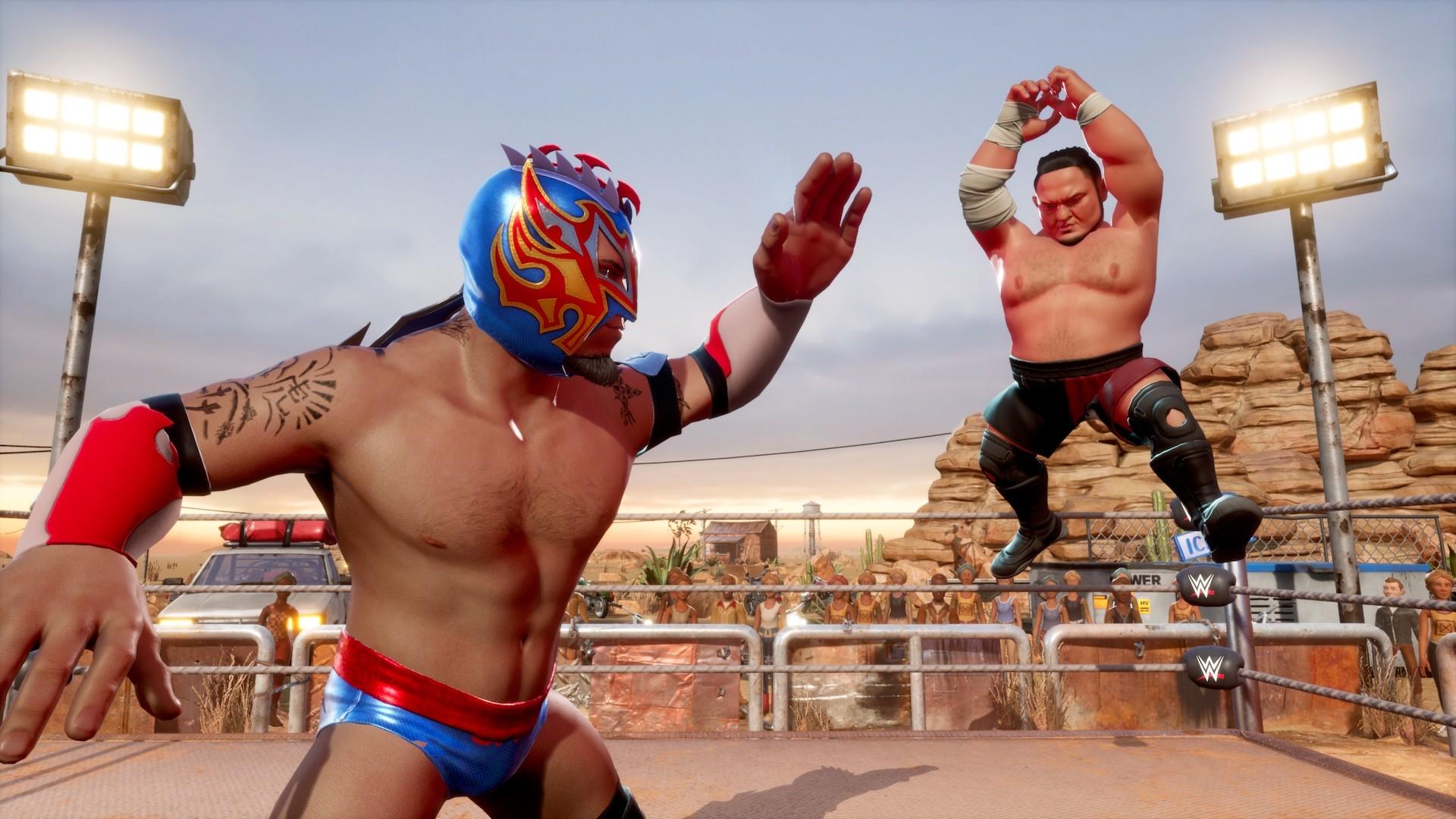 《WWE 2K竞技场》Steam国区139元 目前褒贬不一