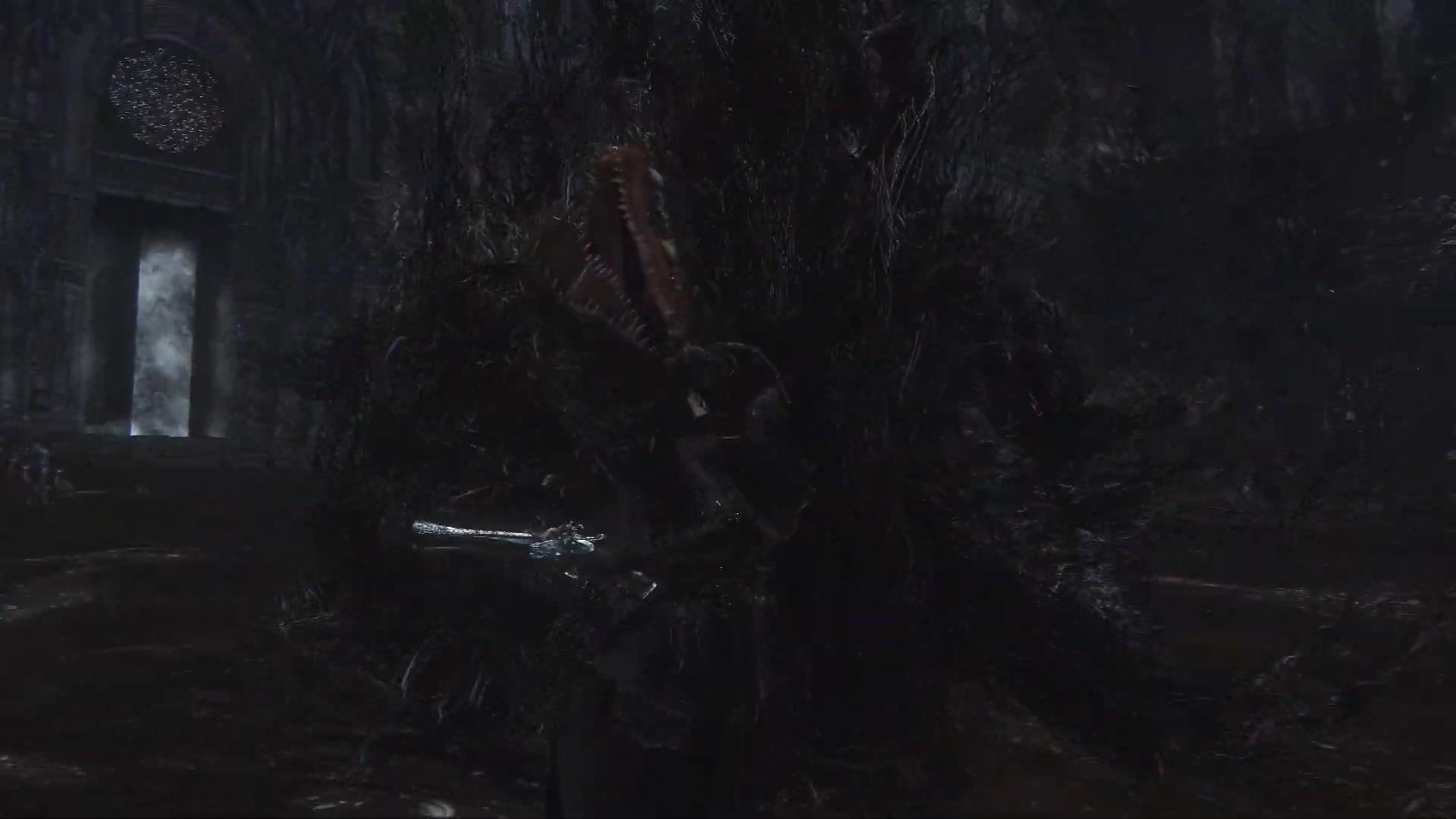 《血源》未开放boss已可访问 四处放电、无处可藏