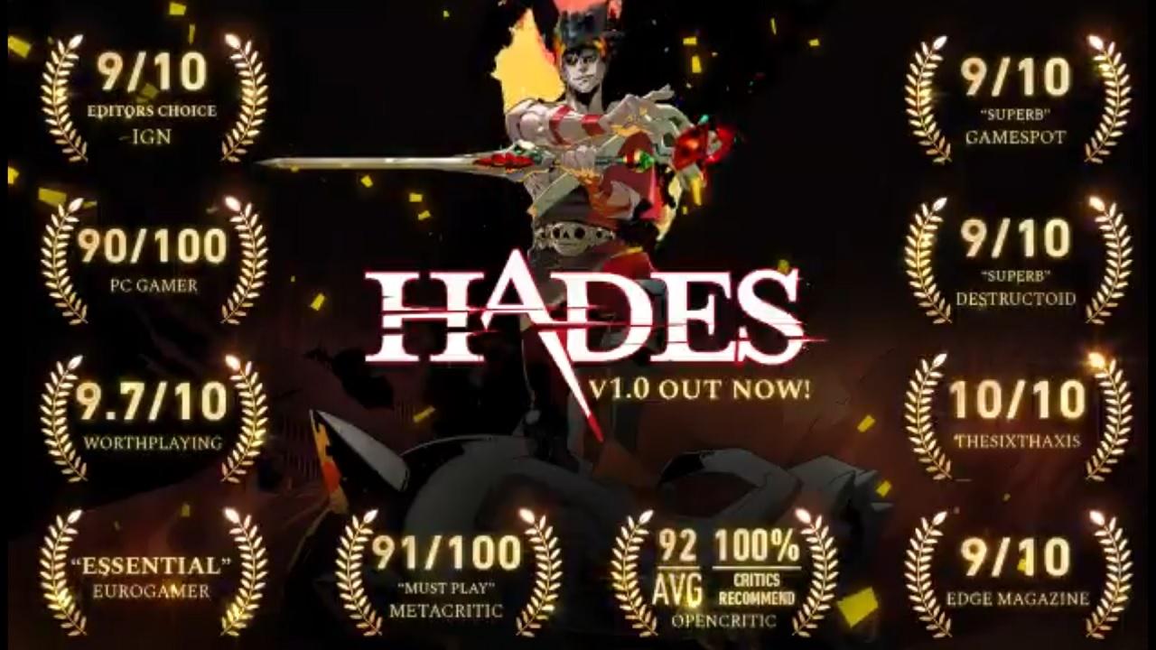 《哈迪斯》销量已破100万大关 正考虑移植其他平