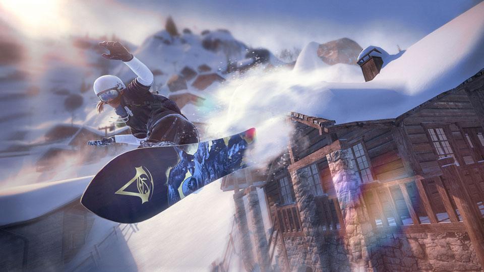 育碧携手中国首届冰雪大会《极限巅峰》成指定赛事游戏