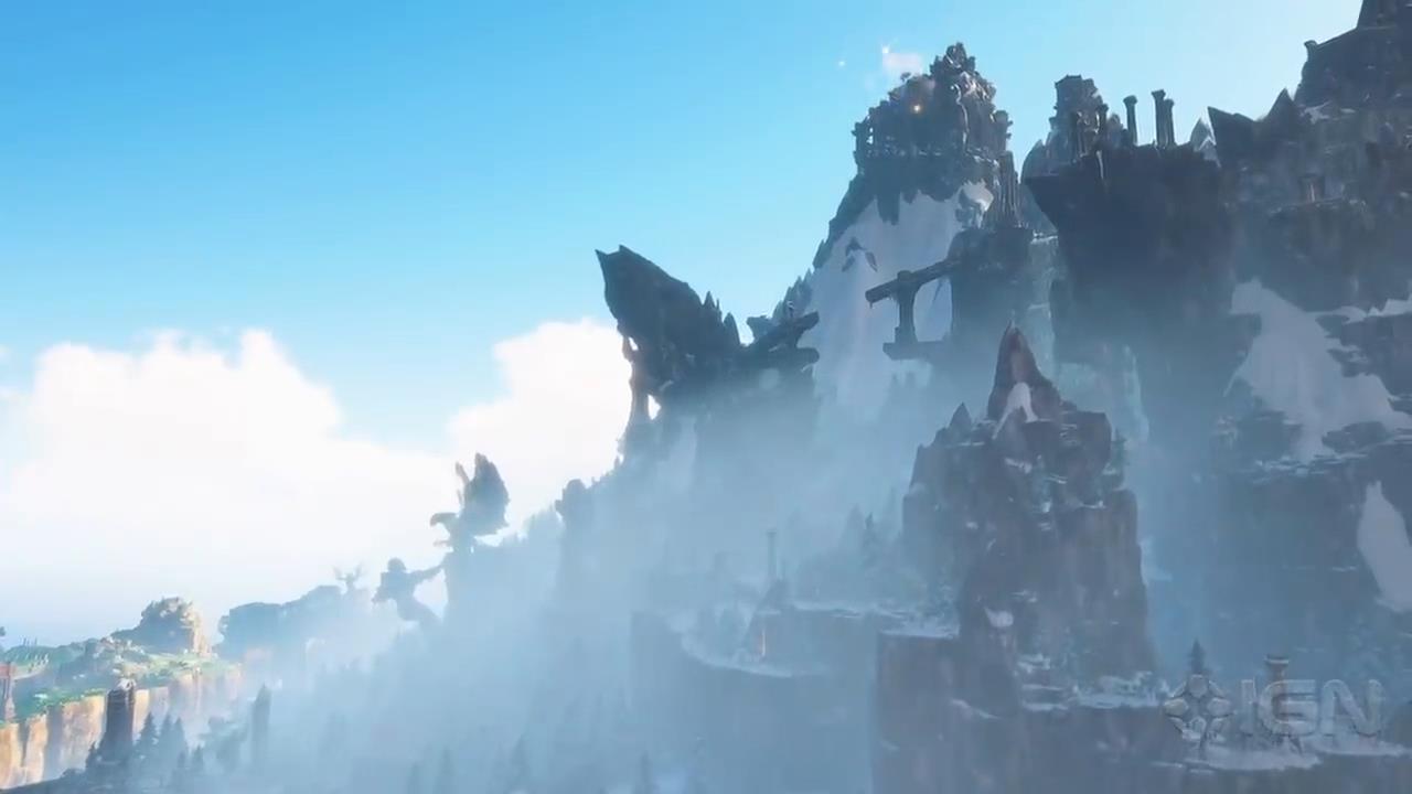 《渡神纪:芬尼斯崛起》全新视频 七大地区介绍
