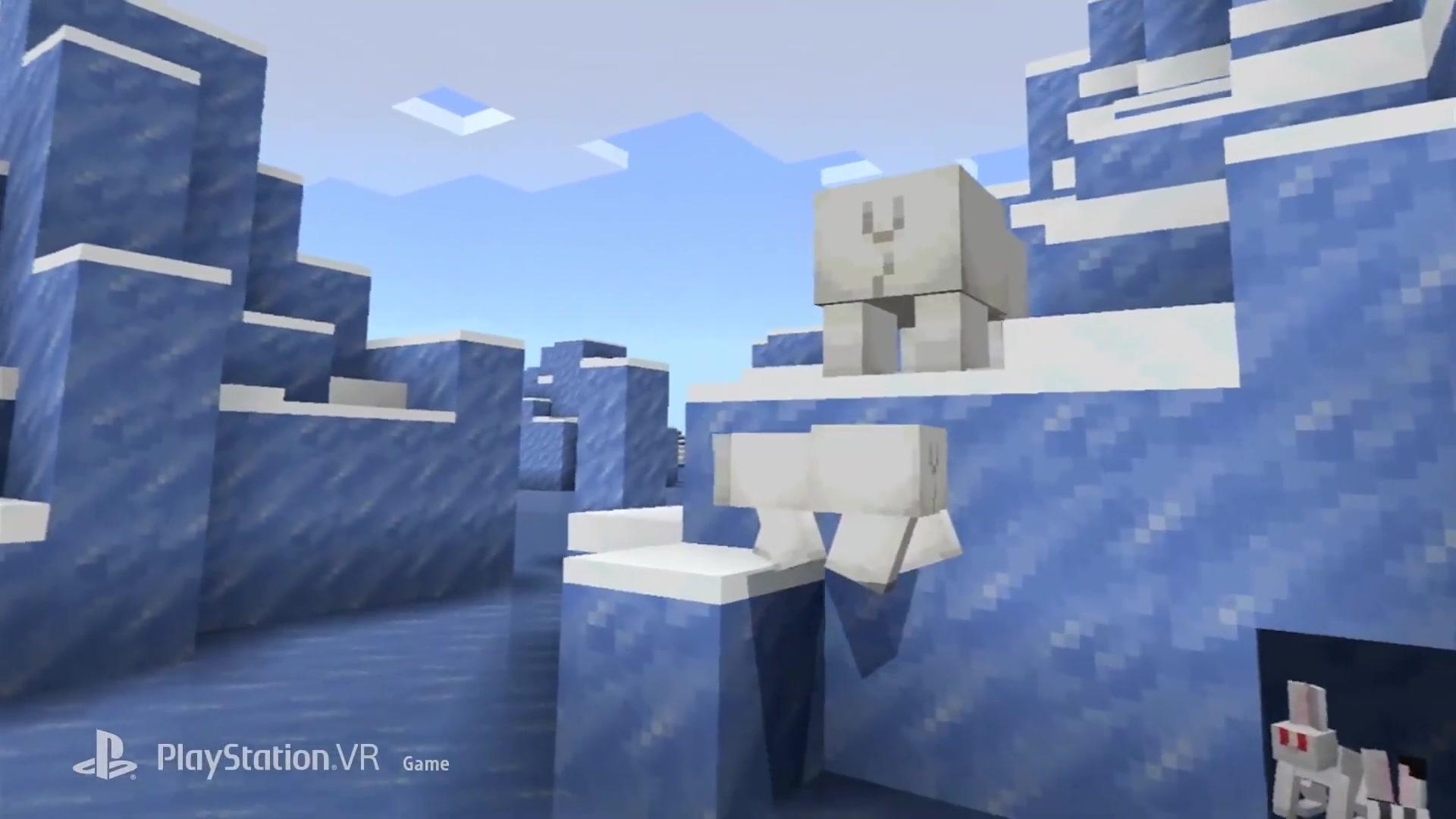 《我的世界》PSVR版已实装 所有玩家可免费游戏