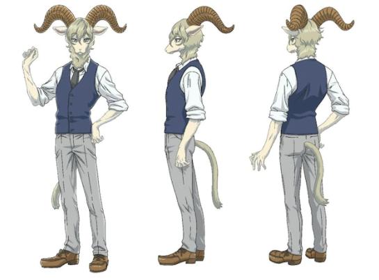 内涵系TV动画《动物狂想曲》第2季新角色 梶裕贵加盟