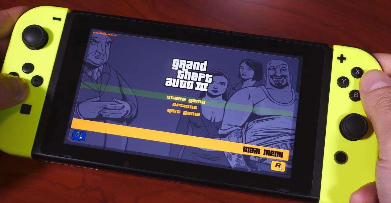 R星瞩目!国外玩家自己动手为Switch移植《GTA3》