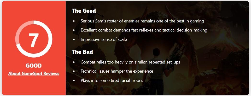 《英雄萨姆4》IGN 5分:敌人设计依旧出色 但玩多了确实无聊
