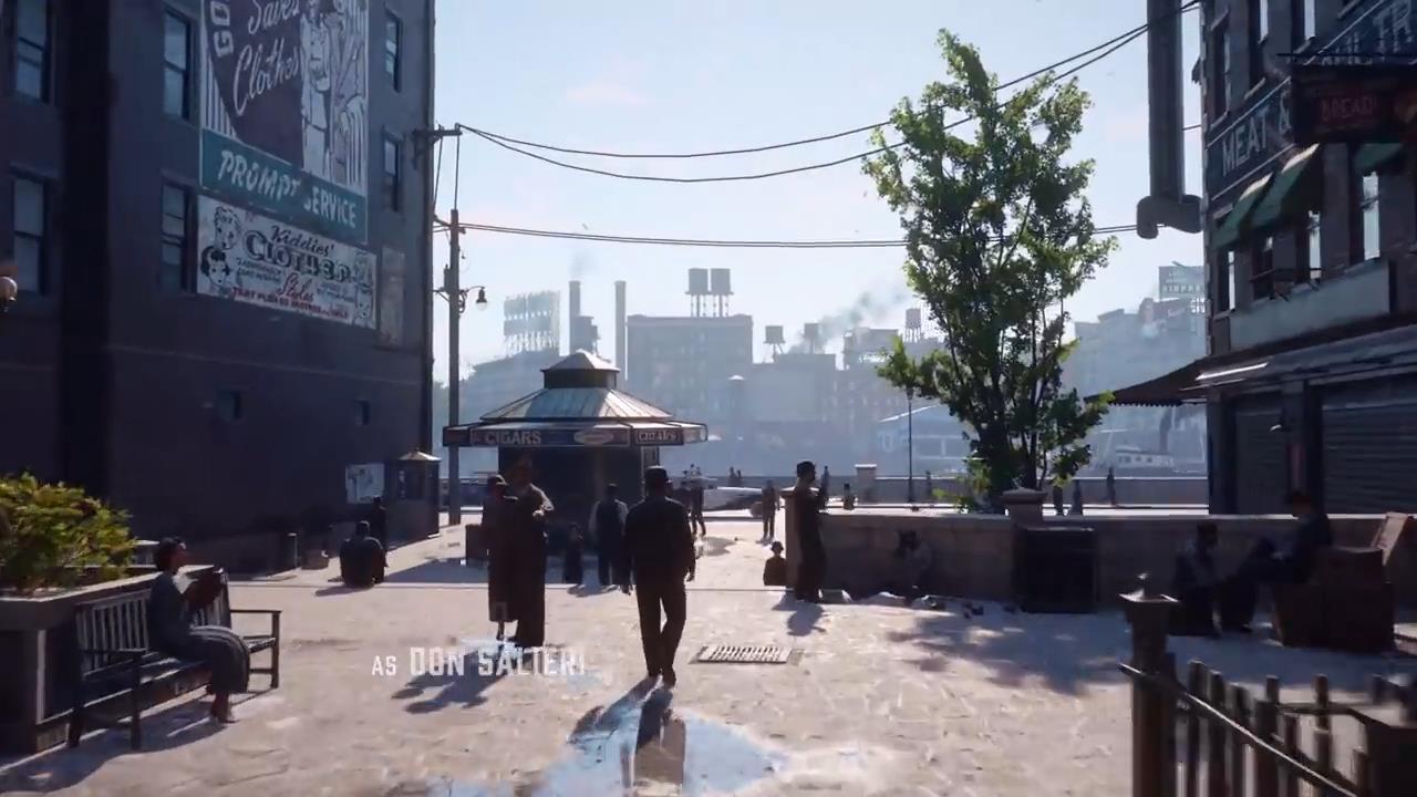 《四海兄弟:最终版》RTX3080演示视频 画质提升