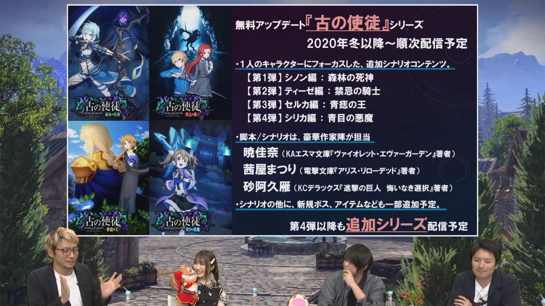 《刀剑神域:彼岸游境》DLC预告公开 历代女角色将参战