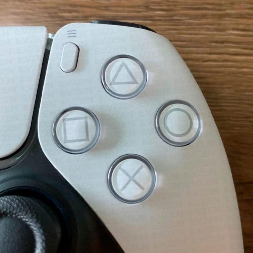 防滑花纹丝毫必现 PS5手柄细节图展示
